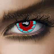 Blue Raptor Cool Contact Lenses