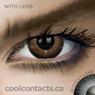 Dark Hazel Contact Lenses