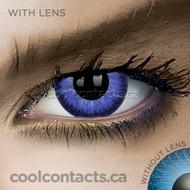 Dark Blue Contact Lenses