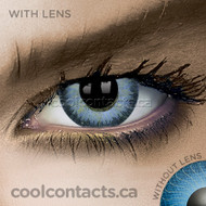 Light Hazel Contact Lenses