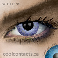 Glimmer Violet Contact Lenses (coolcontacts.ca)