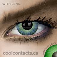 Dark Aqua Contact Lenses