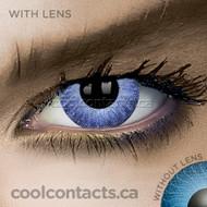 Glimmer Aqua Contact Lenses (coolcontacts.ca)