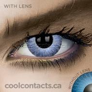 Dark Grey V2 Contact Lenses