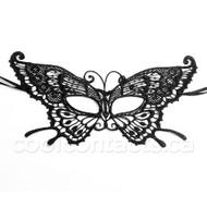 Lace Crochet Butterfly Mask