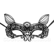 Festival Fox Ears Lace Mask