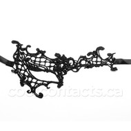 Masquerade Half Gothic Lace Mask
