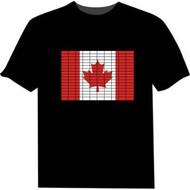 "MEN'S & WOMEN""S  CANADA FLAG EQUALIZER T-SHIRT"