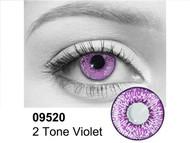Violet 2 Tone Contact Lenses