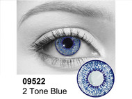 Blue 2 Tone Contact Lenses