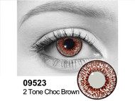 Chocolate 2 Tone Contact Lenses