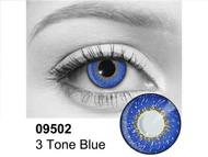 Blue 3 Tone Contact Lenses