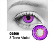 Violet 3 Tone Contact Lenses