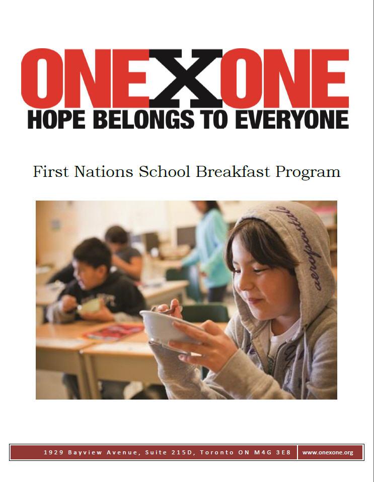 First Nations School Breakfast Program