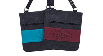 Wool Felt Messenger Bag