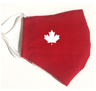 Cotton Masks - Maple Leaf