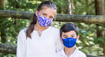 Microfiber Masks - Corrine Hunt 3-Pack Kids Size