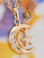 Crescent Star Pendant