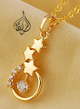 Star Pendant Gold plated