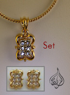 2 piece jewelry set