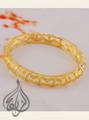 bracelet, gold plated
