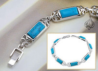 Turquoise Linked bracelet