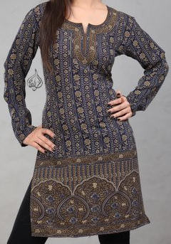 cf4b455ab53 Hip Tunic, Indian Kurtis for Women, Women Tops, Indian Kurtas for ...
