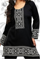 Black Indian Kurti Tunic