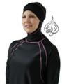 Riviera in Black Pink Islamic Swimwear for Women