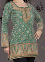 Indian Kurti Tunic Hip Length
