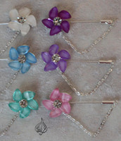 FLOWER HIJAB PINS