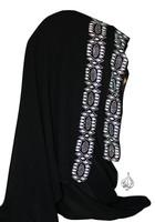 Muslim Khaleej style Shawl with rhinestones