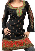 Long Indian Kurti Top