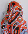 Retro scarf, muslim hijab scarves - orange
