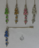 Beautiful Hijab dangling Pins - Islamic