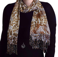 Neck Scarf, Tiger style
