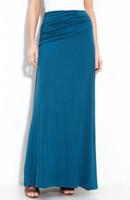 Maxi skirt peacock blue - Jersey Skirt