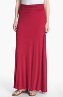 Maxi skirt red - Jersey Skirt