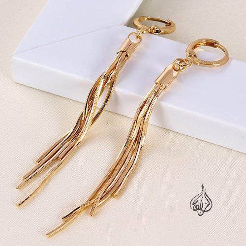a838072ac4079 Gold-plated Fashion Links Earring [ERNG-2300]