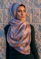 Ombre Pattern Fashion Scarf - Tan - as Hijab