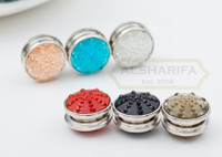 Classic Button Pinless Magnet Hijab Pins (Color)