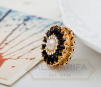 Sunflower Designer Pinless Magnet Hijab Pins