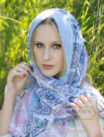 Morocco Inspired Woman Scarf, Hijab, Muslim Scarves