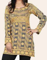 MOD Golden Rod, Indian Kurti