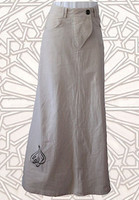 A-Line Tan Skirt
