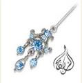 CZ Hijab Pin [APN-007]