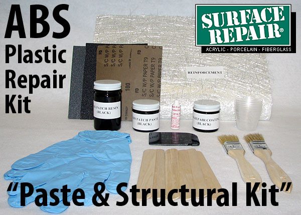 Abs Plastic Repair Kit >> Abs Plastic Spa Pan Utility Panel Reinforcement Paste Repair Kit