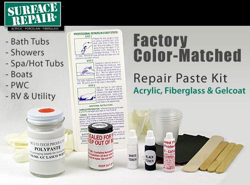 Kohler Colors Bath Tub Amp Shower Repair Kit Acrylic Fiber Glass