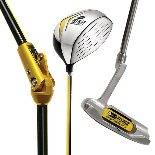 Birdier Maker- Hinged Driver and Putter- Right Hand