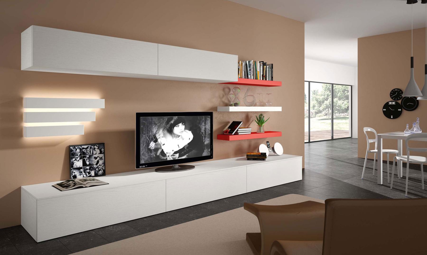 Captivating ... Collections Sma Modern Wall Units Italy Compositon 35.